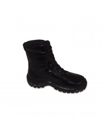 Long Leather Black Army Full Boot With Toe # 520