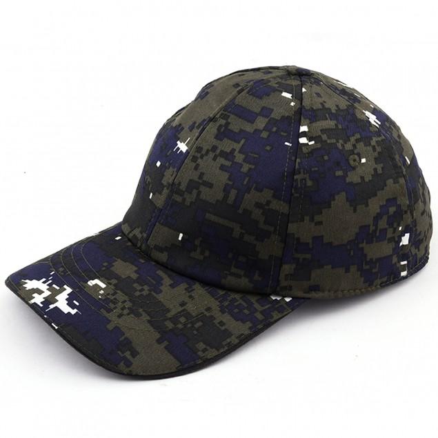 Militia Blue Cobra Printed Baseball Indian Navy SPL Cap