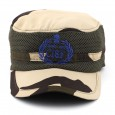 Militia Camouflage CISF Band NATO Cap with logo