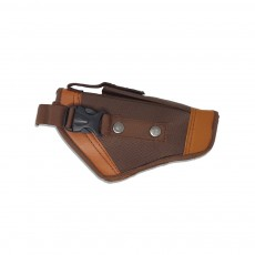 Brown Pistol Cover with Buckle