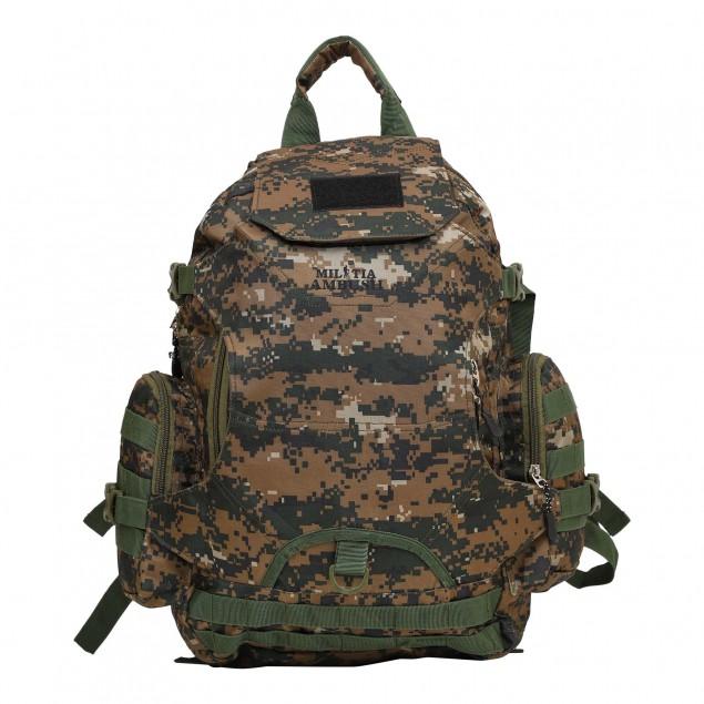 MILITIA AMBUSH 32 LTR COBRA CAMOUFLAGE ARMY,SCHOOL, COLLEGE RUCKSACK BACKPACK