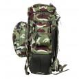 Militia Camouflage Jungle King Army Travel Bag / Tracking Bag 65L
