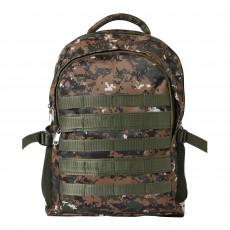 Militia Bag COLLEGE BAG SCHOOL BAG 30L BACKPACK cobra green digital camoufalge print