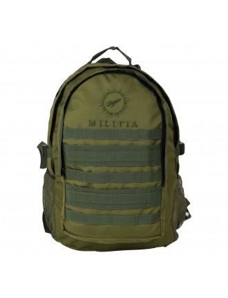Militia BRAVO Tactical Bag COLLEGE BAG SCHOOL BAG Olive Green 40L BACKPACK