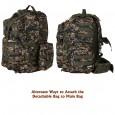 Militia Wandertac Green Cobra 45L Backpack COLLEGE BAG SCHOOL BAG TRAVELLER BAG patrol bag