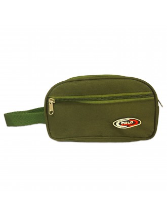 Polo Sports Green Shaving Kit Pouch