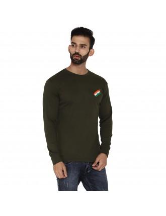 Militia Army OG Flag Cammando full sleeves tshirt