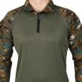 Militia URI Flag Cobra Camouflage Full Sleeves T Shirt