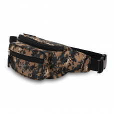 Militia Camouflage Cobra Waist Pouch